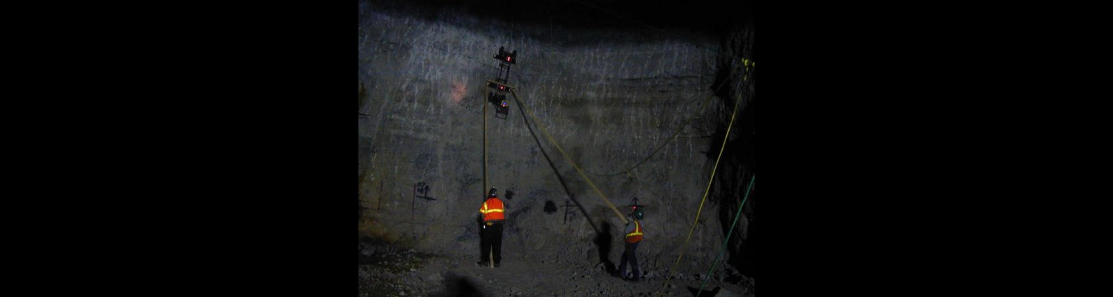 GPR for Voids and Fractures in a Mine Wall